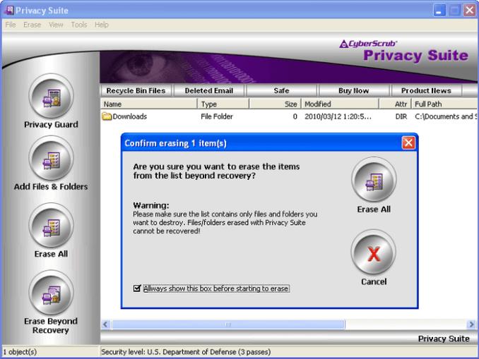 CyberScrub Privacy Suite 6 License Key