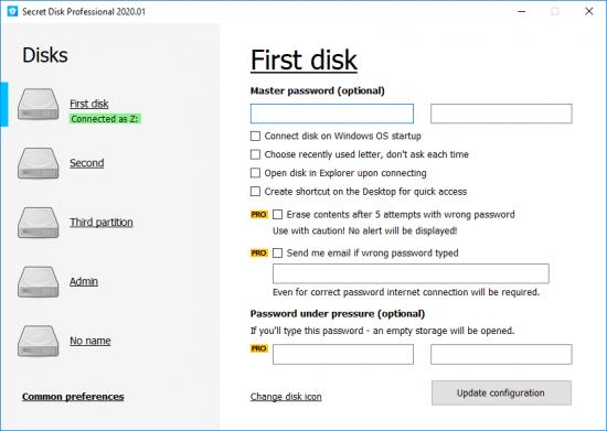 Secret Disk Pro Serial Key